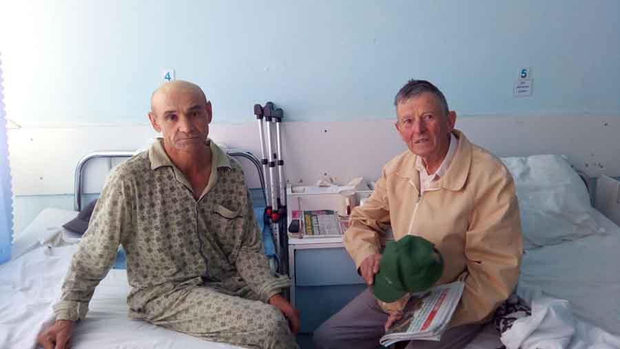 Un veteran din Gorj și-a donat economiile unui sărman din Petroșani