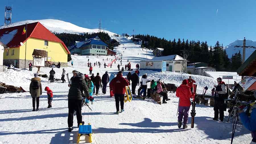 Lecții gratuite de schi și snowboard pentru copii, în Parâng