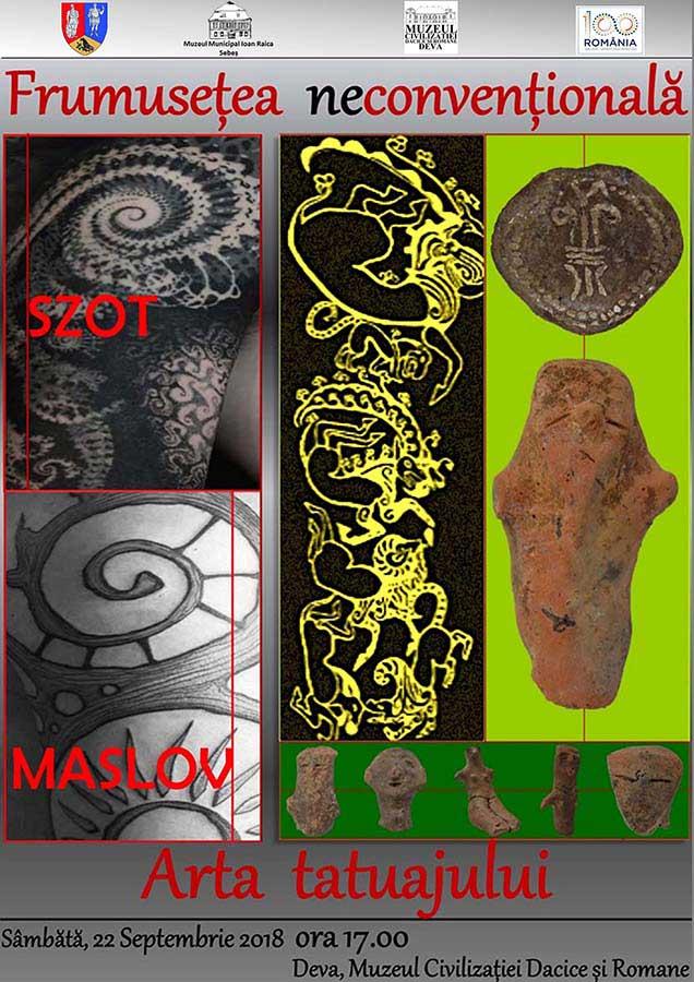 Expoziție de artă a tatuajului, vernisată la muzeul din Deva
