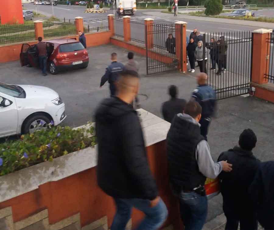 Șapte hoți de cărbune prinși, dintr-o lovitură, de polițiștii de la TF
