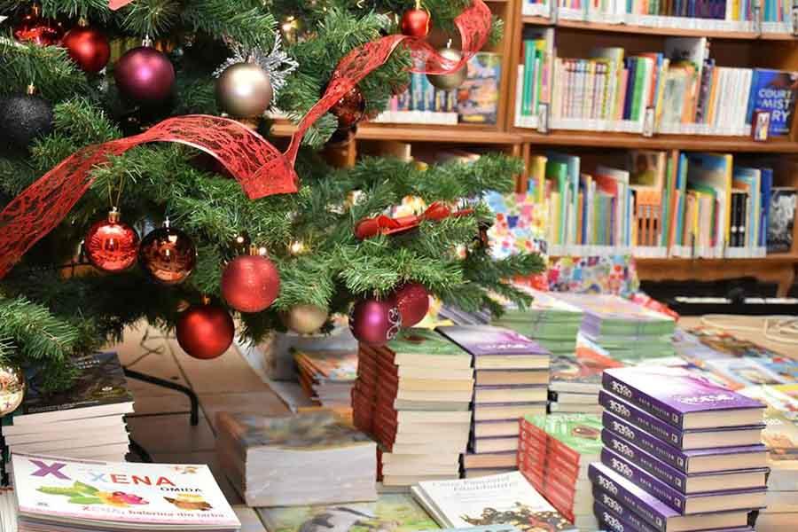 """Moș Crăciun, generos cu tinerii posesori de permis la Biblioteca Județeană """"Ovid Densusianu"""""""