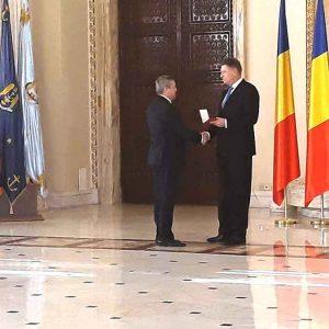 Universitatea din Petroșani, decorată de președintele României