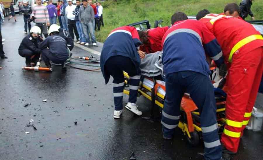 Accident rutier grav pe Dealul Hațegului