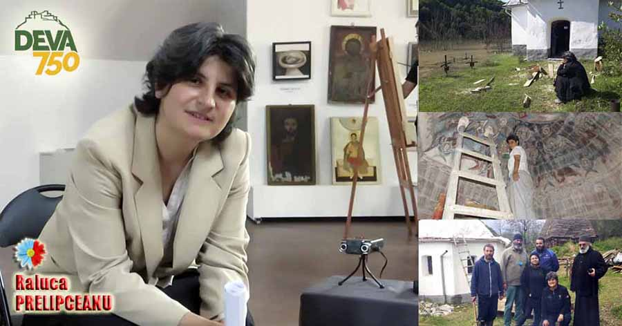 """Iconograful Raluca Prelipceanu, salvatorul sfinților va fi """"premianta fără  premii"""", la Deva - Servuspress"""