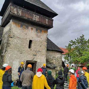 """Ambulanța pentru Monumente """"a tratat"""" încă un edificiu istoric. Biserica de la Baru, salvată de la ruină"""