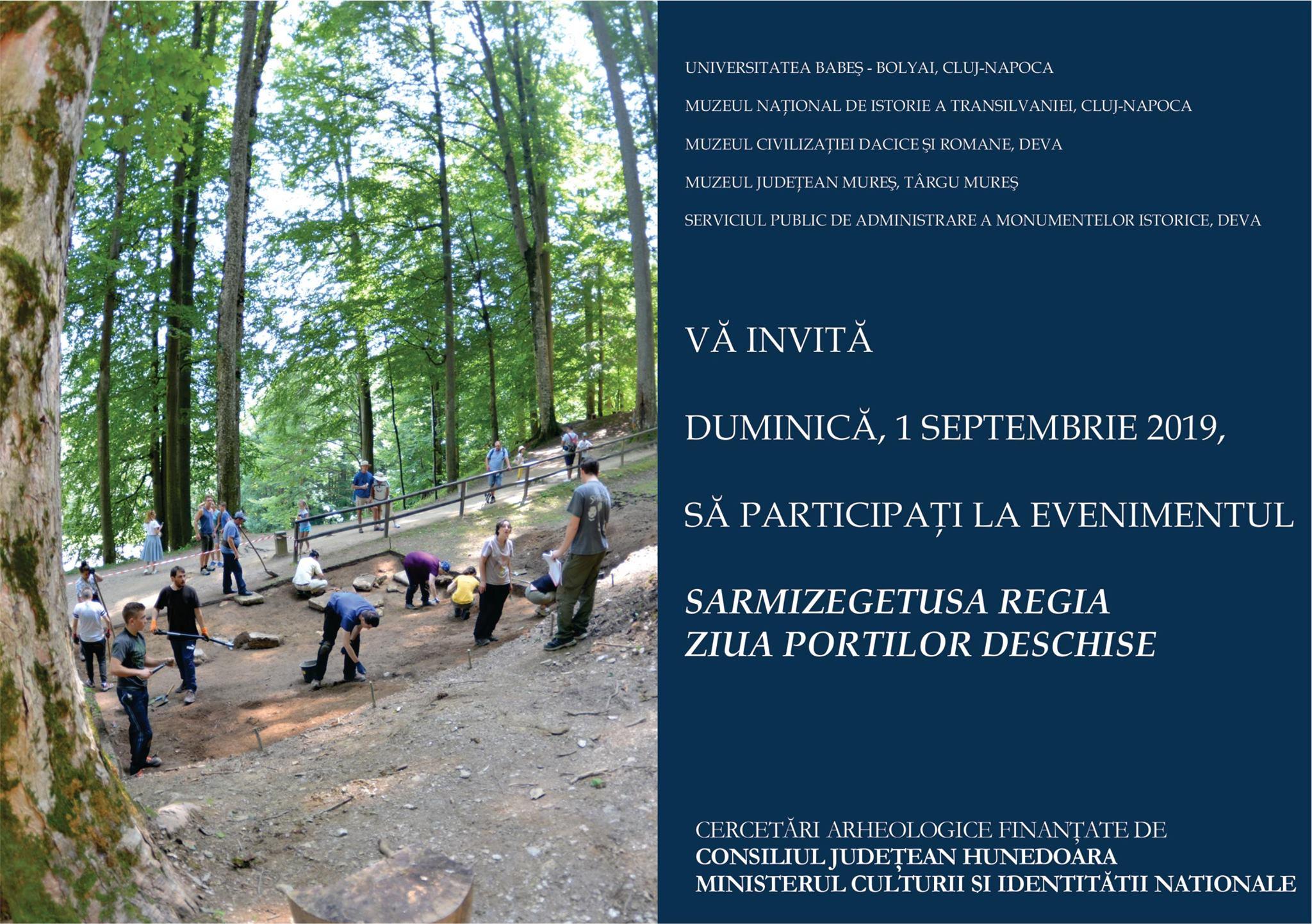 """""""Ziua Porților Deschise"""" la cetatea dacică Sarmizegetusa Regia"""