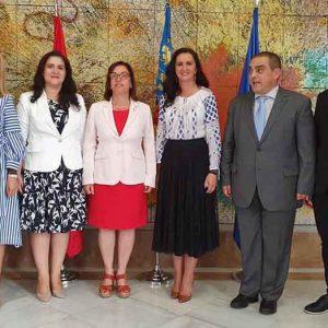 Castellon, capitala neoficială a românilor din Spania, a fost vizitată ieri de ministrul Natalia Intotero