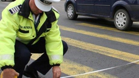 Grav accident rutier la Orăștie, produs de un cetățean croat