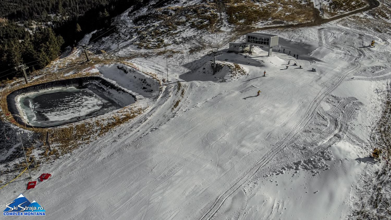 O nouă pârtie, la Straja. Sezonul de schi s-a deschis, oficial, în cea mai căutată stațiune montană din județ