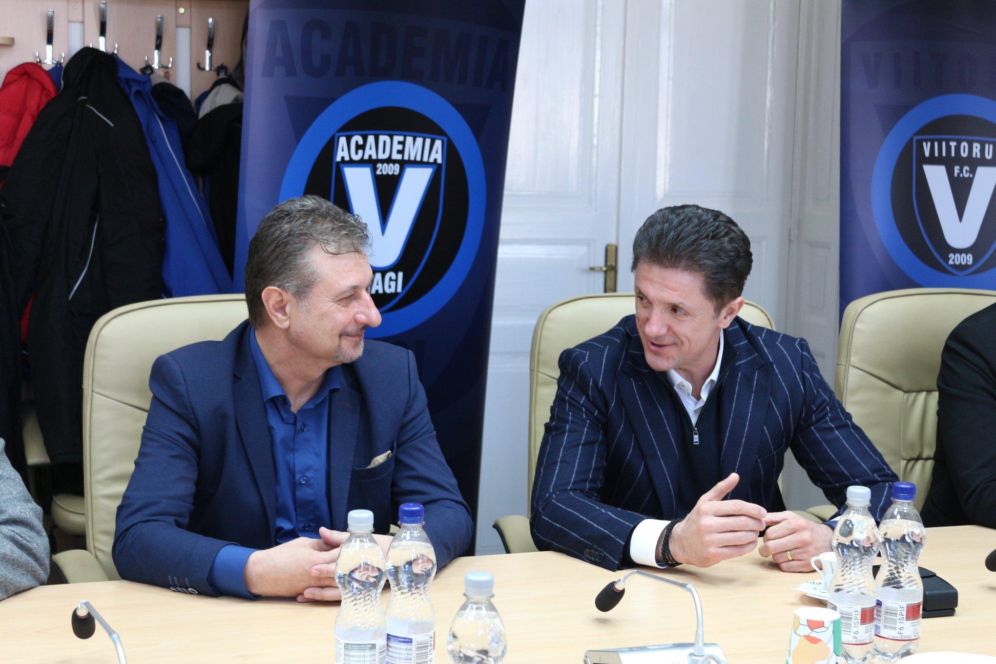 """Academia de Fotbal """"Gheorghe Hagi"""" și Viitorul FC Constanța, partenere ale Clubului Sportiv Hunedoara"""