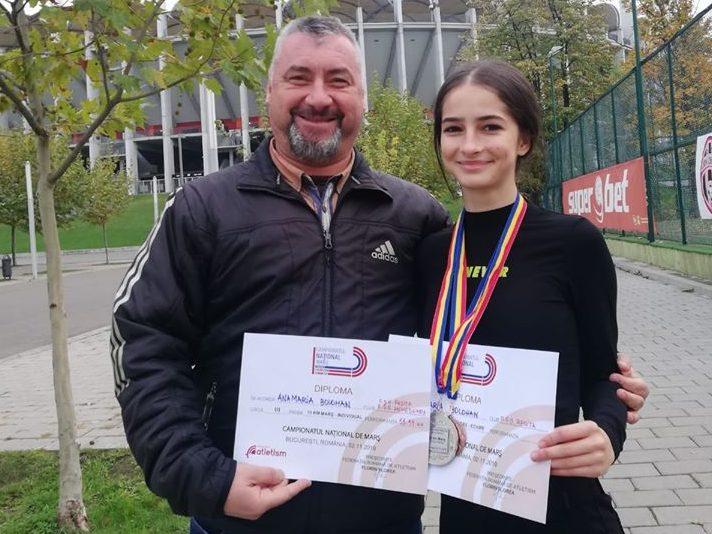 O atletă din Hunedoara va reprezenta România la Campionatul Balcanic de Marș din Ucraina
