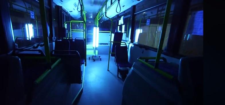 Autobuzele din Deva, dezinfectate cu ultraviolete