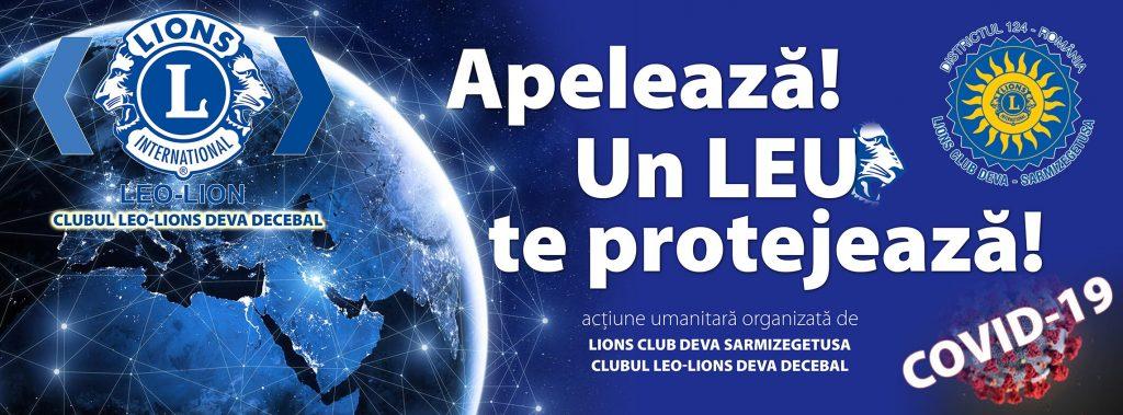 Clubul Lions Deva Sarmizegetusa, grup de sprijin pentru persoanele care nu se pot aproviziona în această perioadă