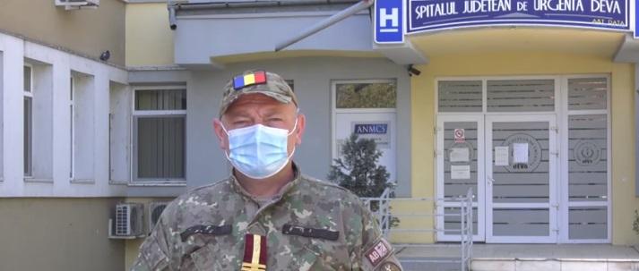 VIDEO: Şeful echipei de management militar al SJU Deva, lt. col. medic Constantin Vlase, despre situaţia actuală a unităţii sanitare