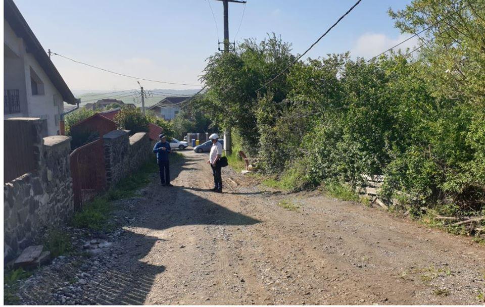 Drumul de legătură dintre străzile Vulcan și Cozia din Deva, modernizat