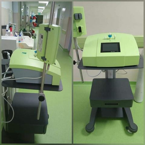 Terapie cu ozon, pentru pacienții infectați cu SARS CoV-2. Spitalul din Hunedoara, singurul din județ, partener în acest proiect