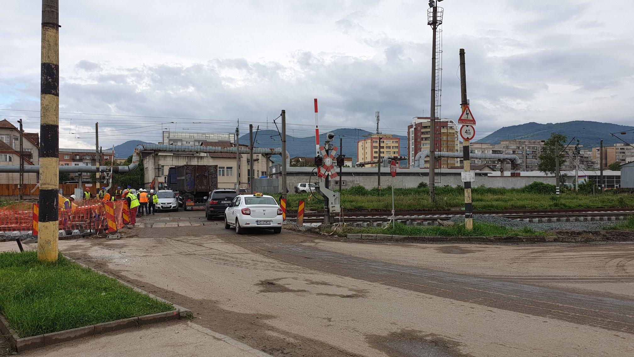 Se închide traficul pe strada Hărăului din Deva, timp de trei zile