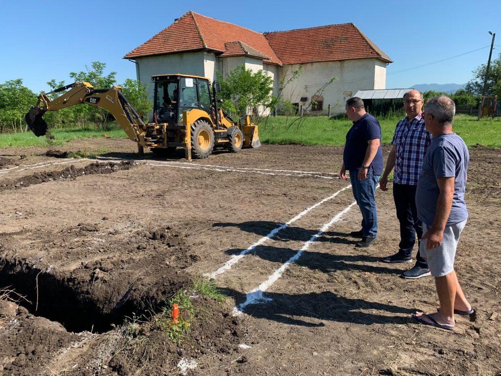 , Se construiește o capelă mortuară în satul Bârcea Mică