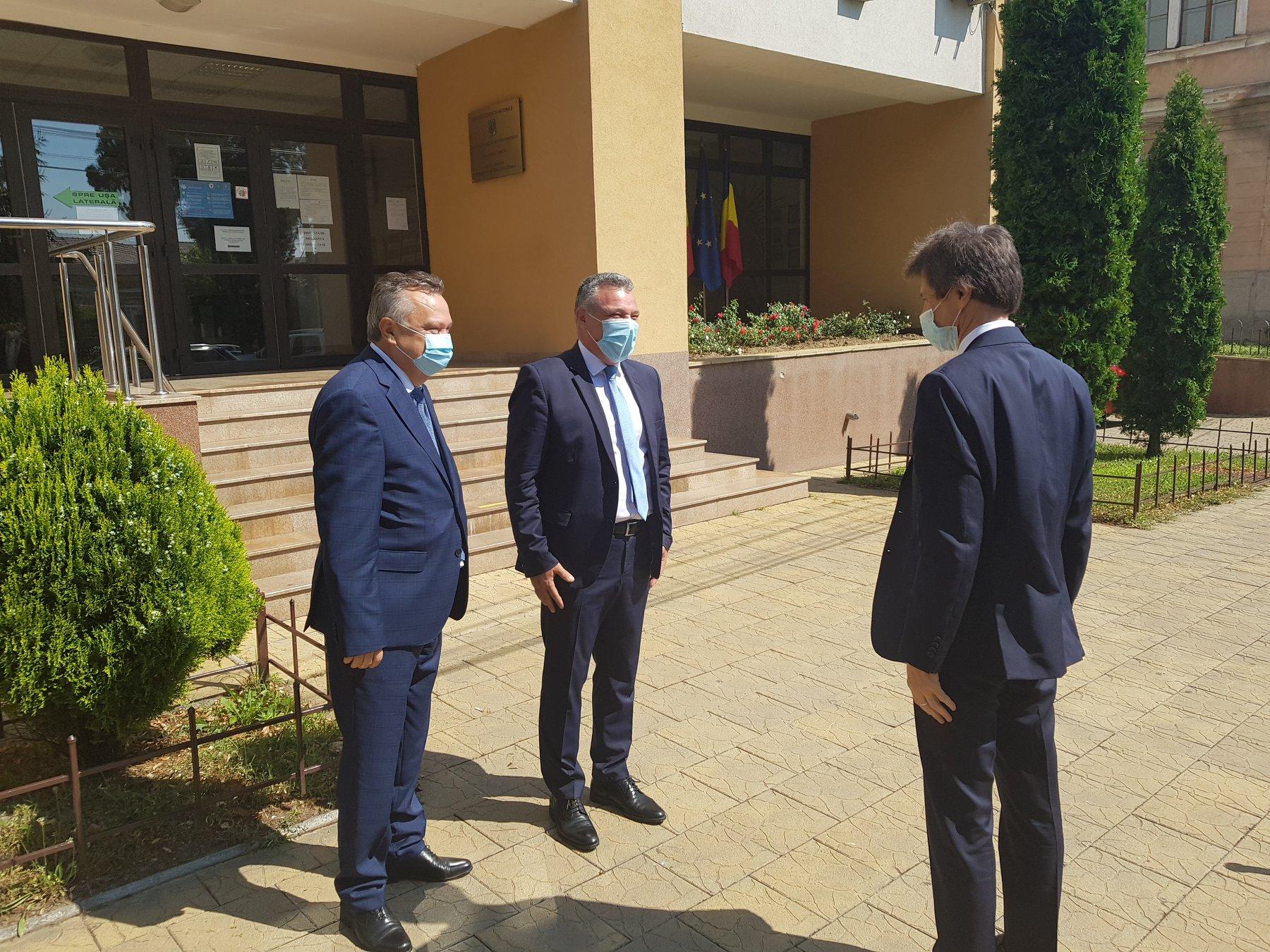 Consulul Germaniei, prezent la Deva. Întâlnire pentru sprijinirea mediului de afaceri din județ