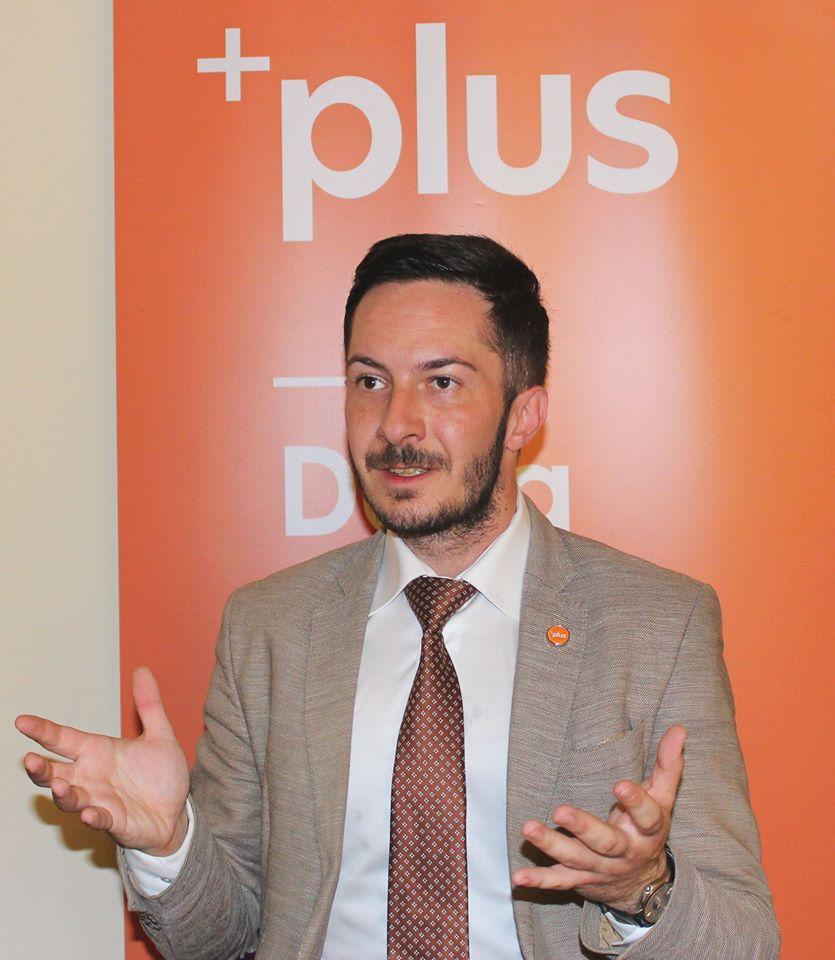 Călin Pop, candidatul PLUS la președinția Consiliului Județean Hunedoara