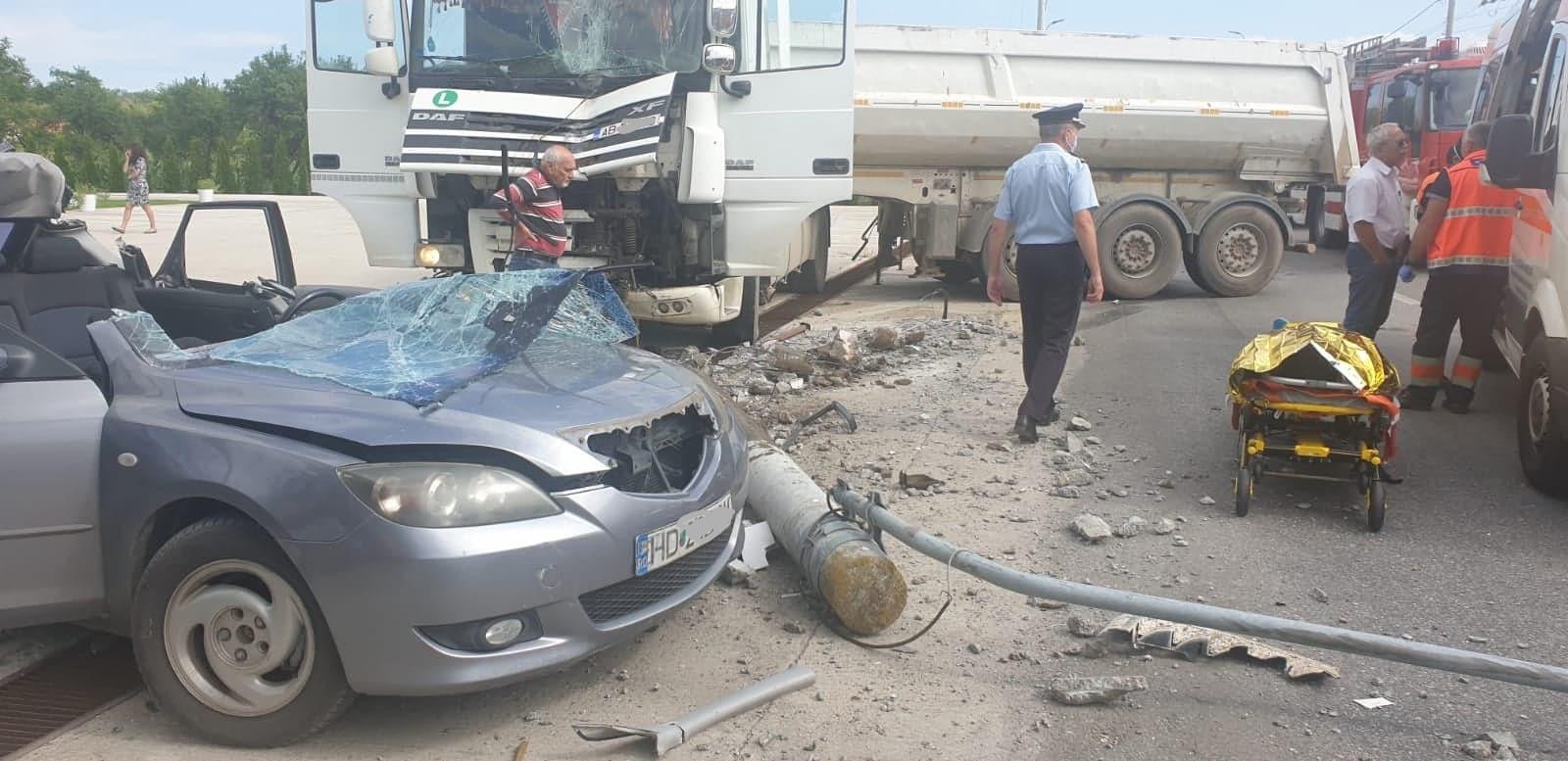 UPDATE: Cum s-a produs accidentul mortal de la Cristur, în care un tânăr de 31 de ani și-a pierdut viața