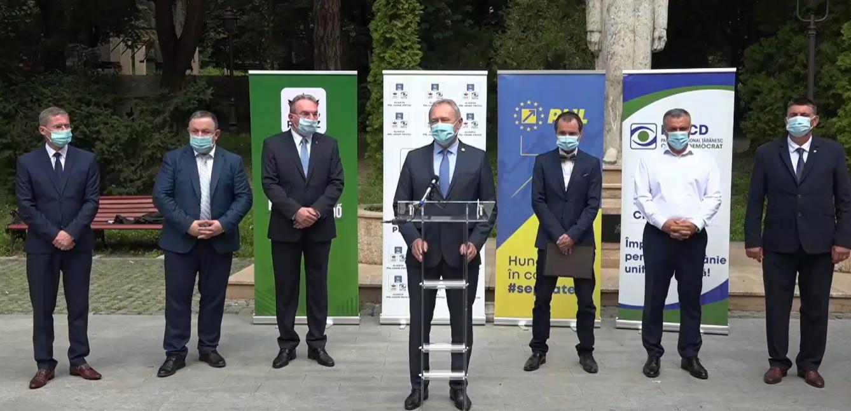 PNL a făcut o nouă alianță, cu UDMR și PNȚCD, pentru dezvoltarea județului Hunedoara