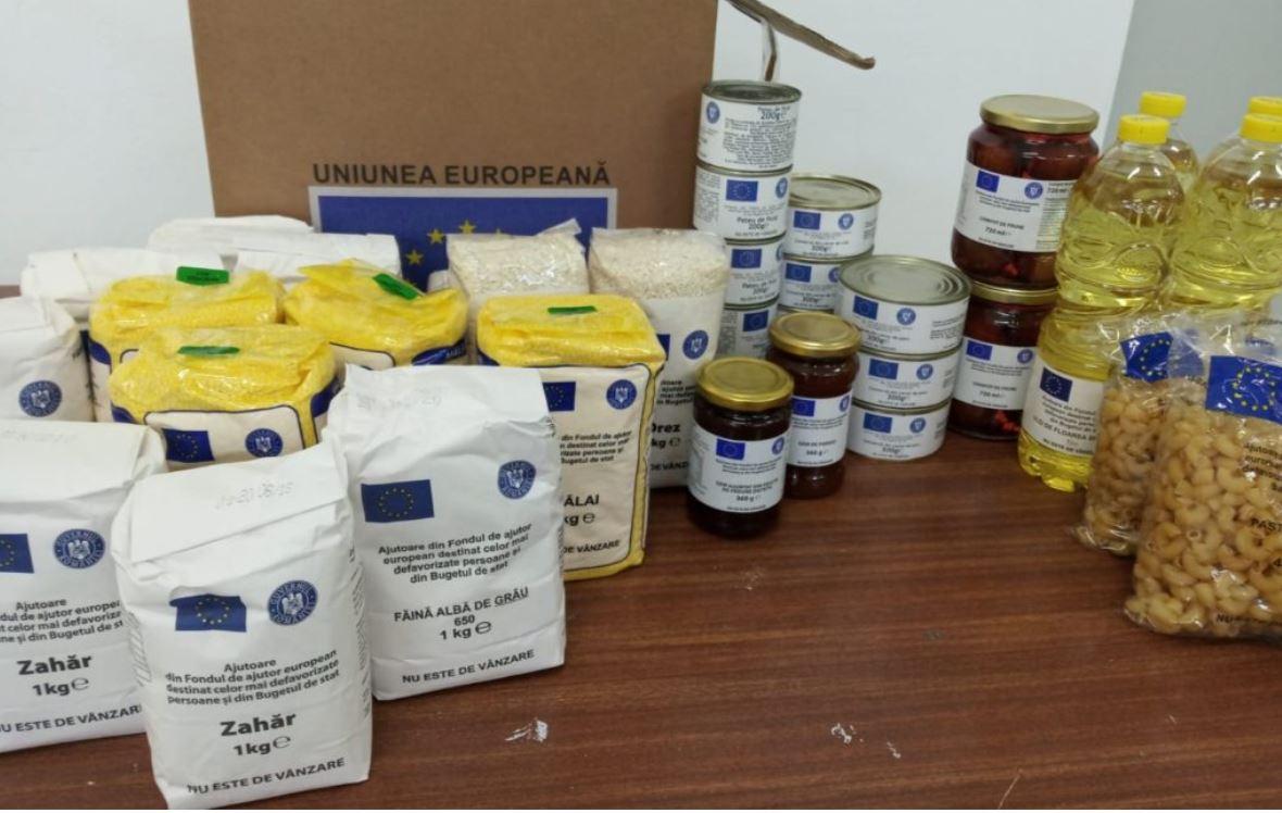Pachete cu ajutoare alimentare de la UE, distribuite la Deva, începând din 12 august
