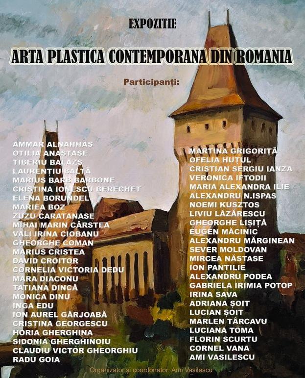 """Expoziție: """"Artă Plastică Contemporană din România"""", la Castelul Corvinilor din Hunedoara"""