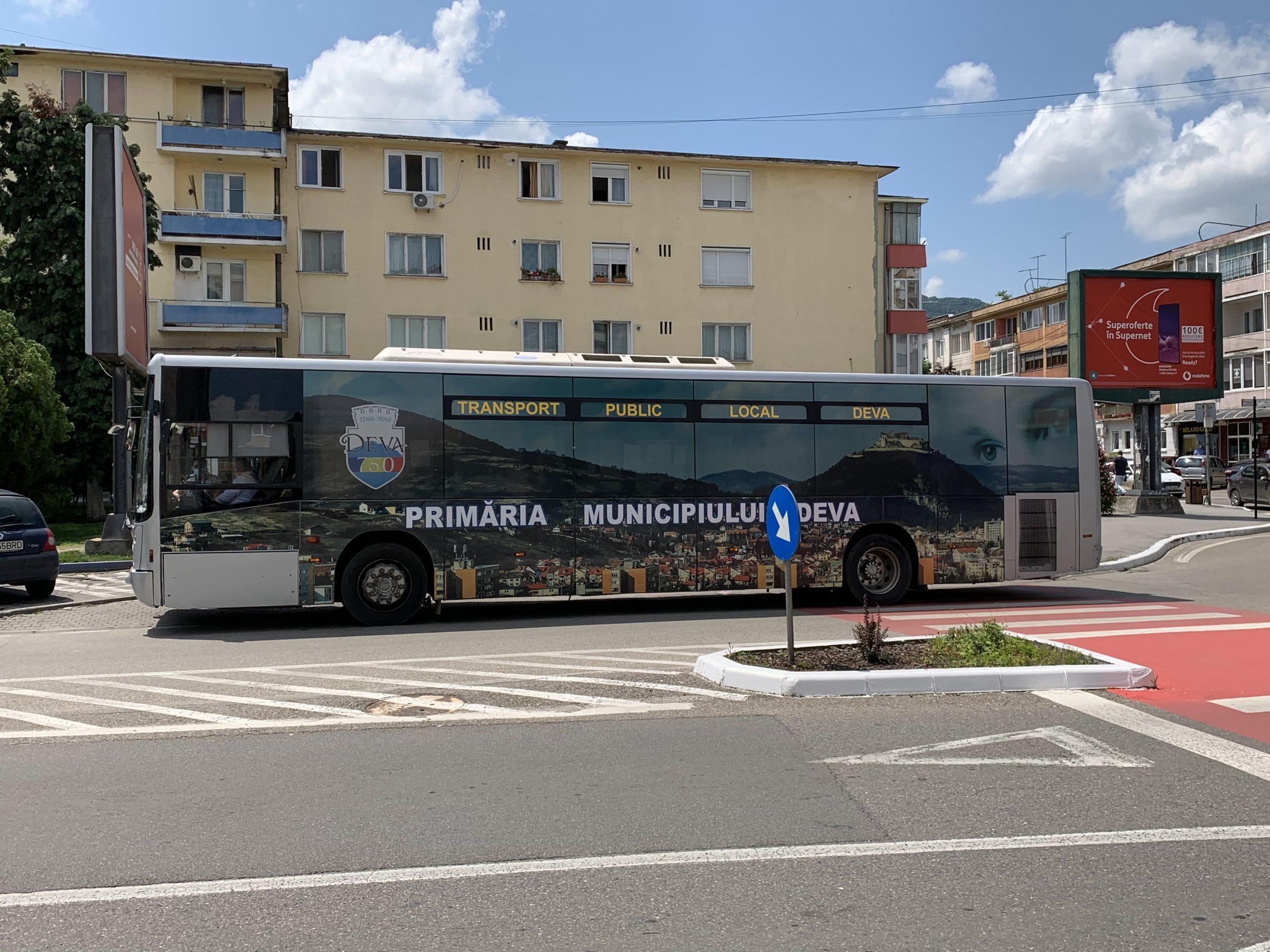 S-a prelungit termenul de eliberare a tichetelor gratuite de călătorie pentru transportul public local din Deva