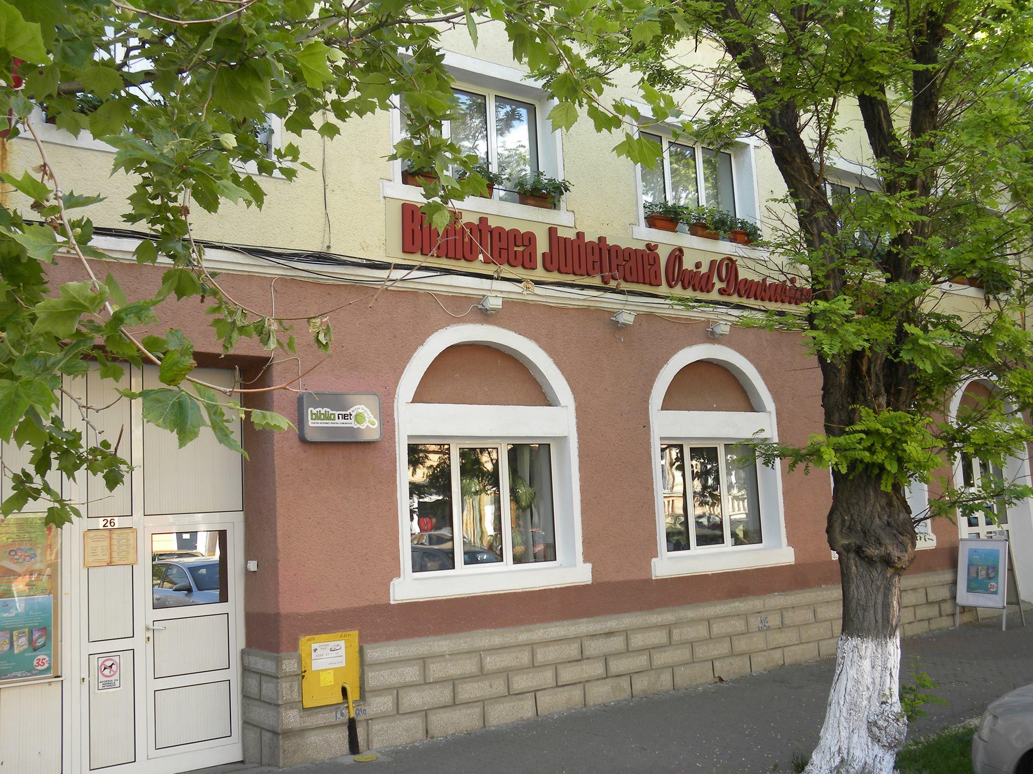 """Sala de lectură a Bibliotecii Județene """"Ovid Densusianu"""" se redeschide în octombrie"""