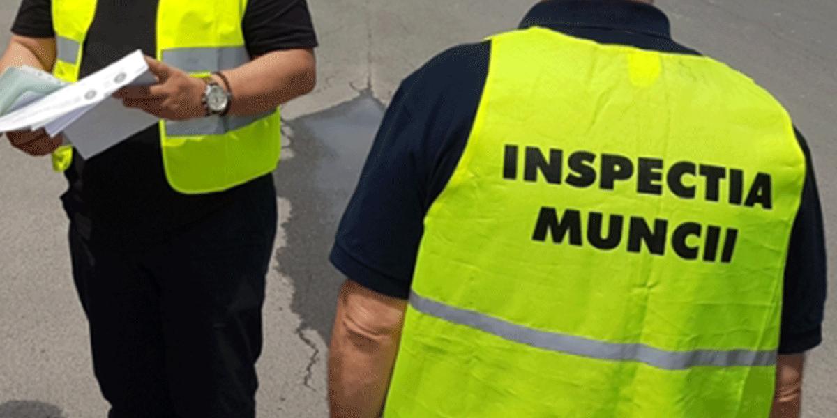 """Şapte persoane depistate muncind """"la negru"""" şi peste 100 de controale efectuate de inspectorii de muncă"""