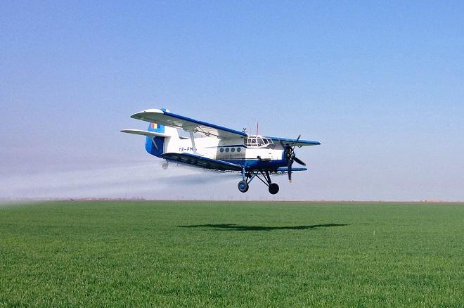 Campanie de dezinsecție avio în Deva și localitățile învecinate