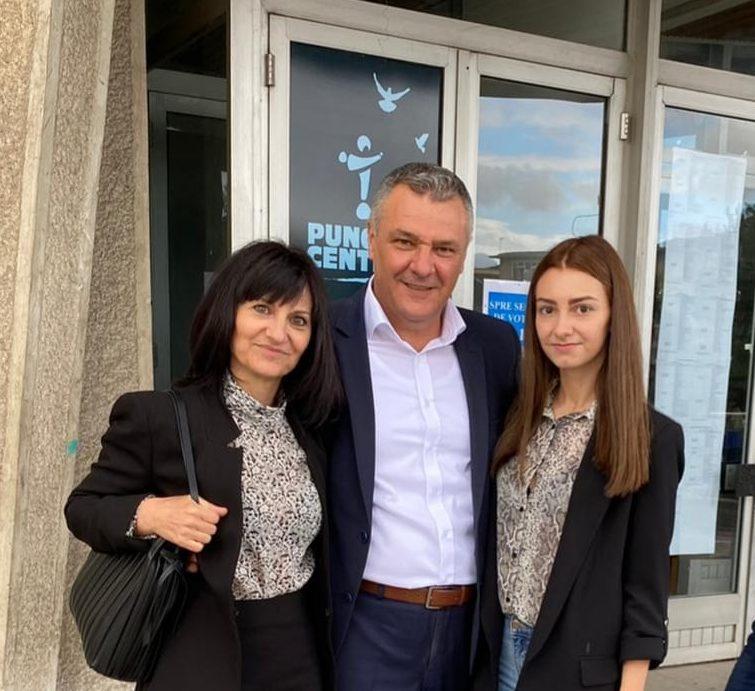 """Alegeri locale 2020  Florin Oancea: """"Am votat pentru continuarea dezvoltării Devei, pentru o administraţie responsabilă şi eficientă"""""""