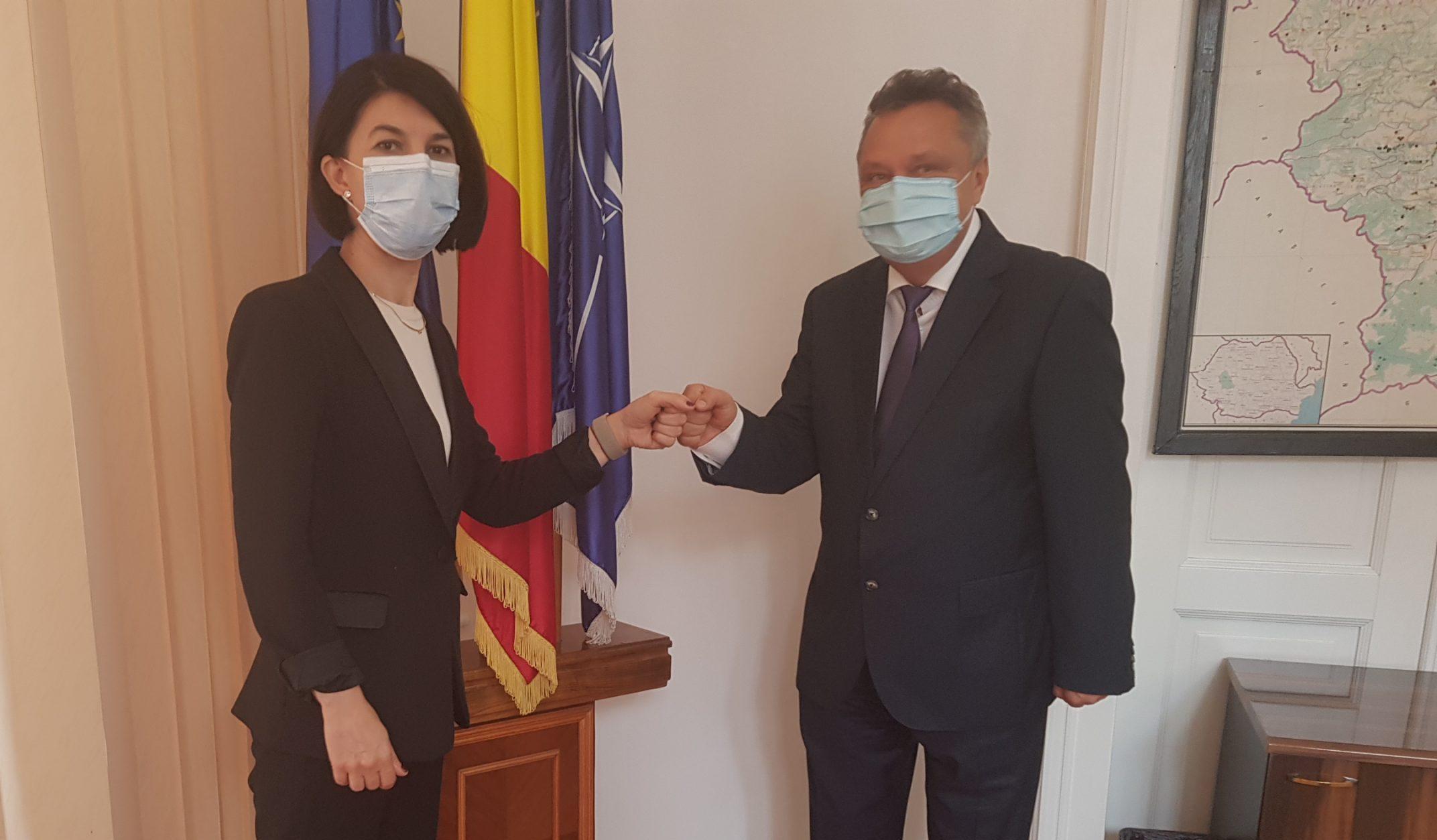 Ministrul Muncii și Protecției Sociale în vizită, în județ