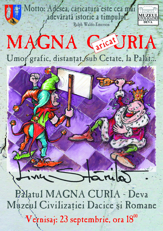 Expoziție de grafică umoristică la Muzeul Civilizației Dacice și Romane din Deva