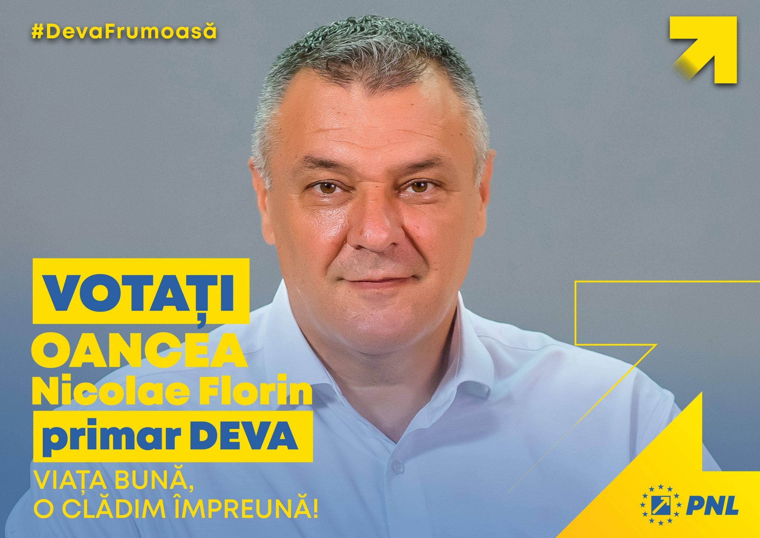 Primarul Florin Nicolae Oancea și cea mai bună echipă de consilieri locali liberali pentru următorul mandat – realizările dintr-un mandat scurt, de aproximativ 2 ani si nouă luni precum și proiectele viitoare.