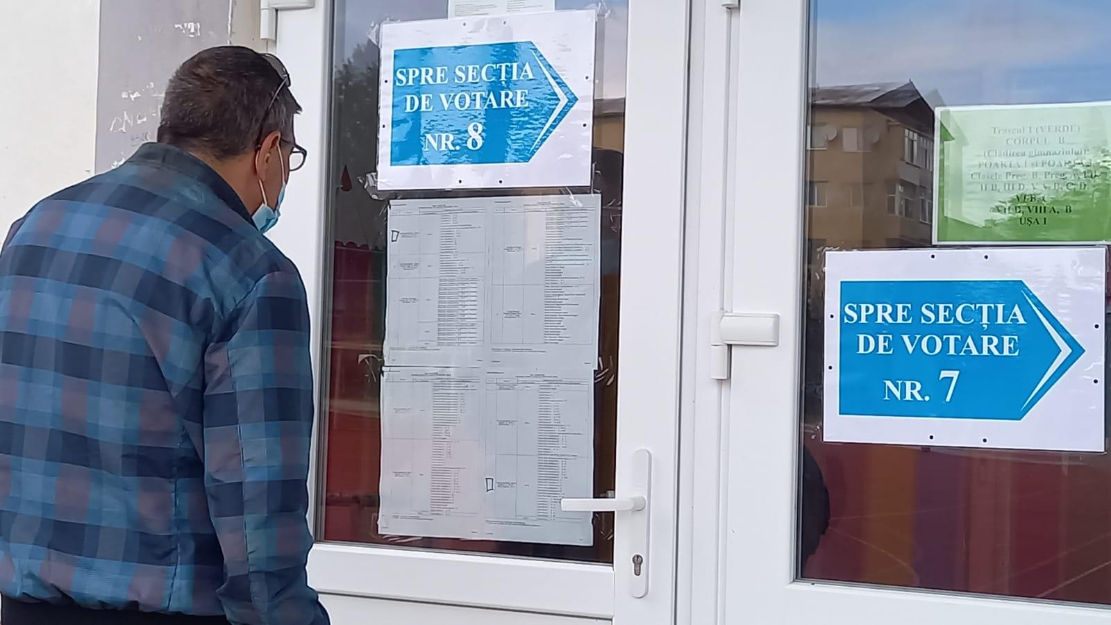 Alegeri locale 2020  Prezența la vot, cu o oră înaintea închiderii urnelor, în municipiul Deva: 35,09 la sută, iar în județ – 44,54 la sută