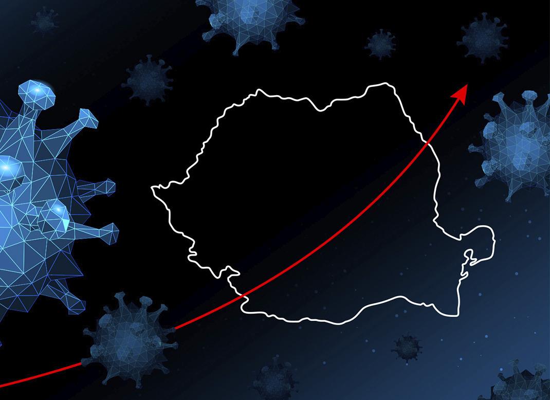 Coronavirus: 68 de cazuri noi, raportate în judeţul Hunedoara, în ultimele 24 de ore. 2.158 de îmbolnăviri în ţară