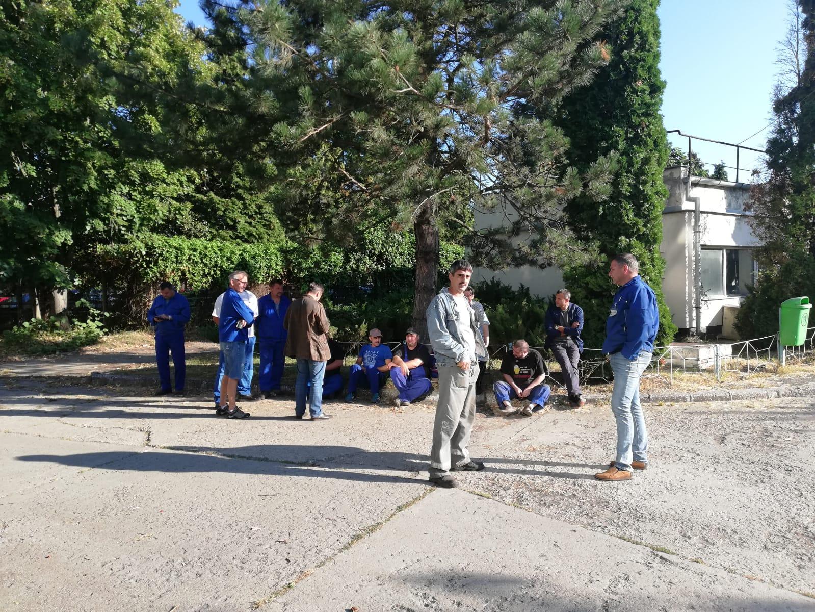 Angajații de la Termocentrala Mintia protestează din nou. Centrala a fost oprită, din lipsă de cărbune