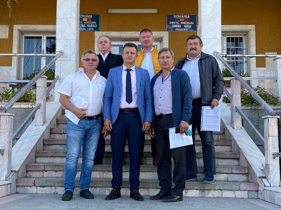 Parteneriat între șase comune, între care și Hărău, și un oraș pentru introducerea rețelei de gaze naturale