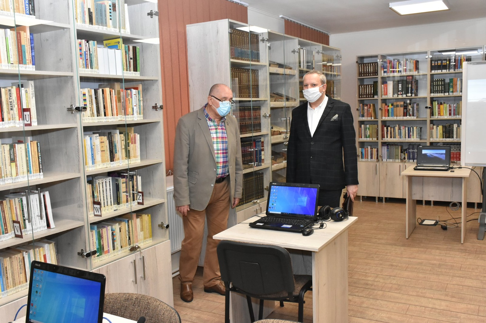 Sala de Lectură a Bibliotecii Județene s-a redeschis
