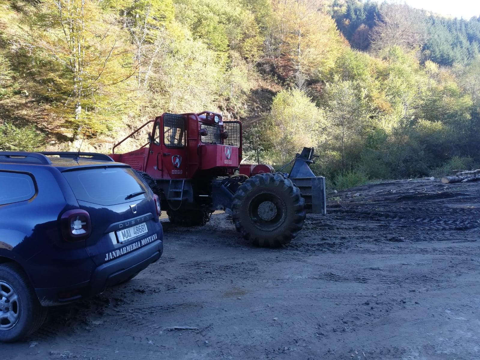 Sancţiuni pentru transportul buştenilor prin albia minoră a râurilor și pâraielor din zona de munte