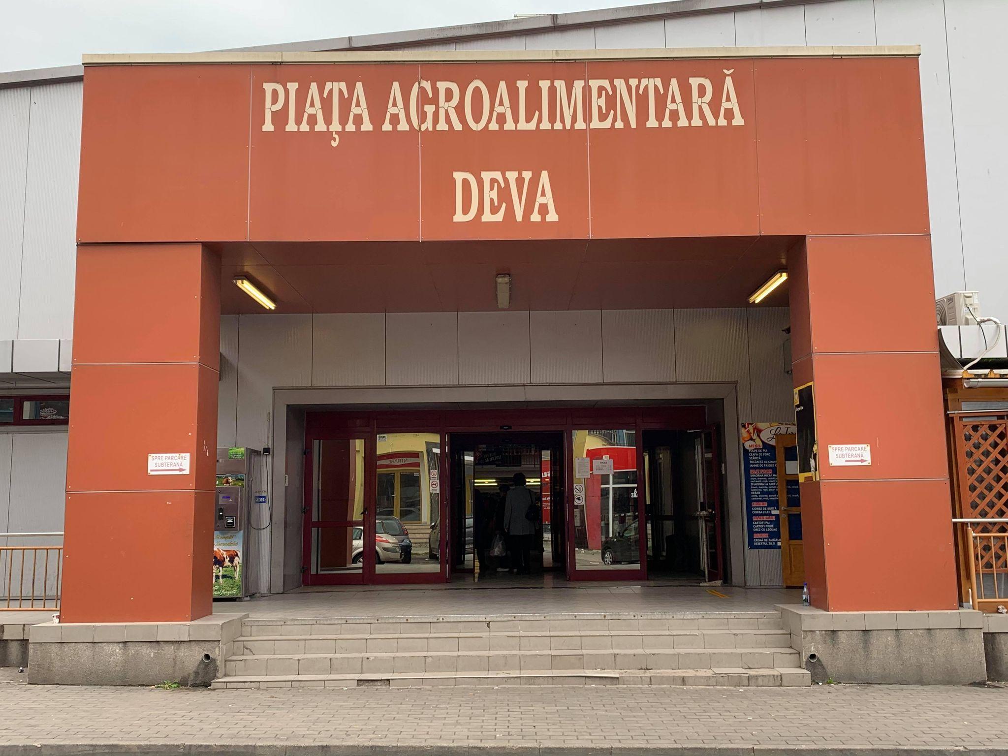 Piața Centrală Agroalimentară va fi preluată de Primăria Deva