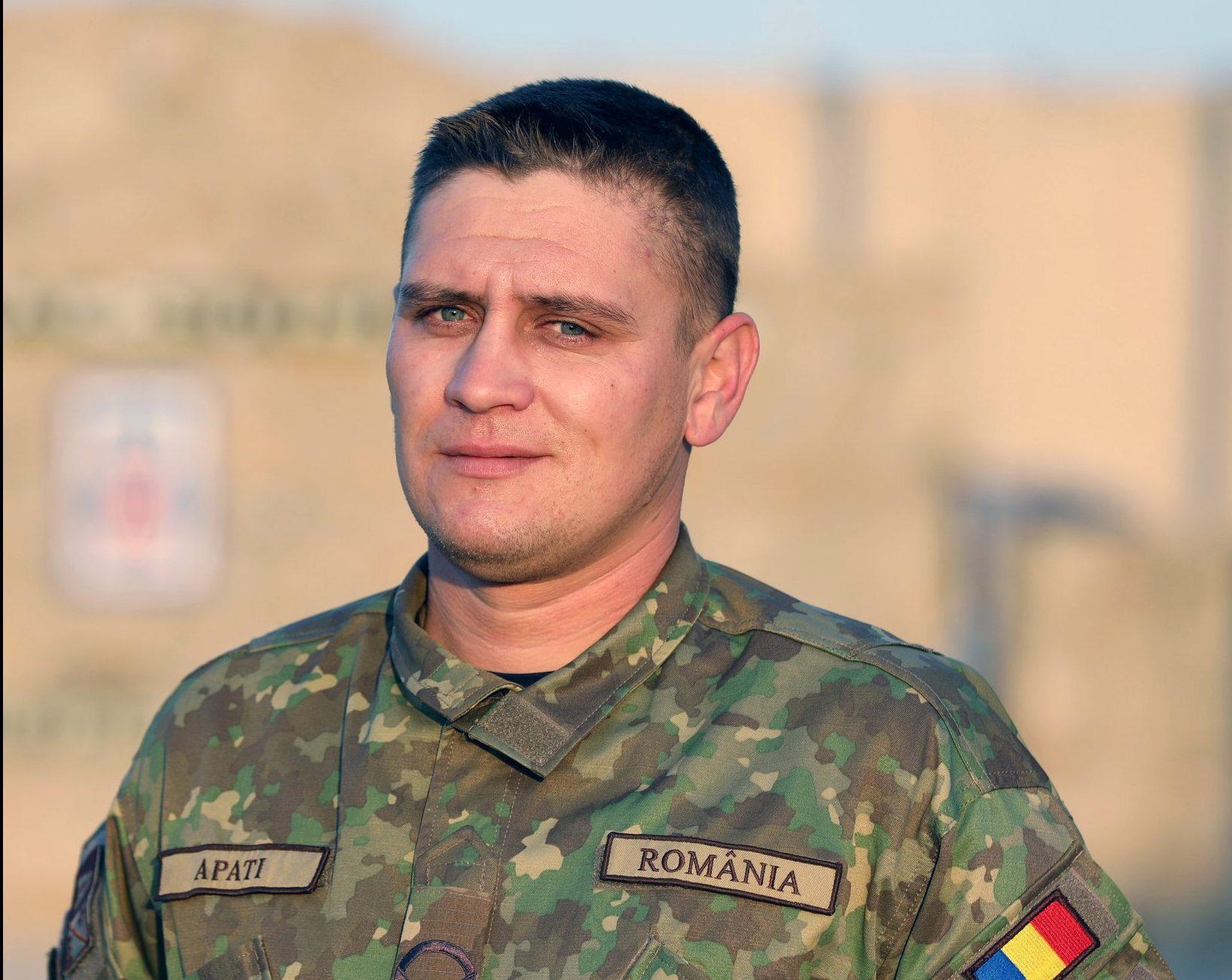 Un militar hunedorean, erou în Afganistan. Caporalul Paul Apati, primul care și-a ajutat colegii răniți în timpul unui atac