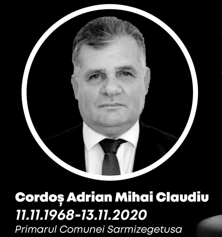 Primarul comunei Sarmizegetusa și-a pierdut viața, în urma infecției cu Covid-19