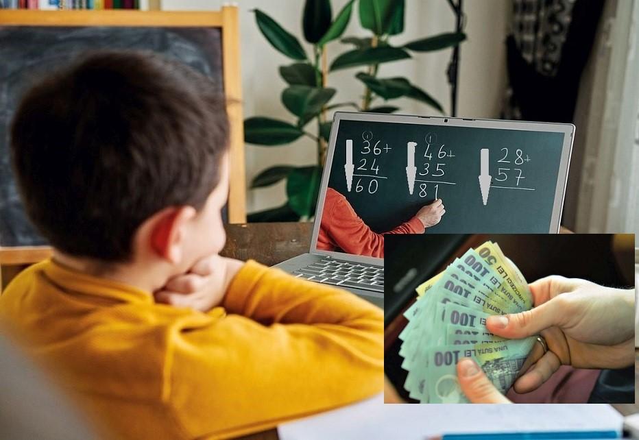Elevii primesc bursele școlare. Banii intră, vineri, în contul școlilor