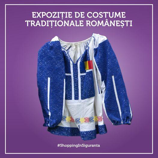 Expoziție de costume tradiționale românești, cu prilejul Micii Uniri, la cel mai mare centru comercial din Deva