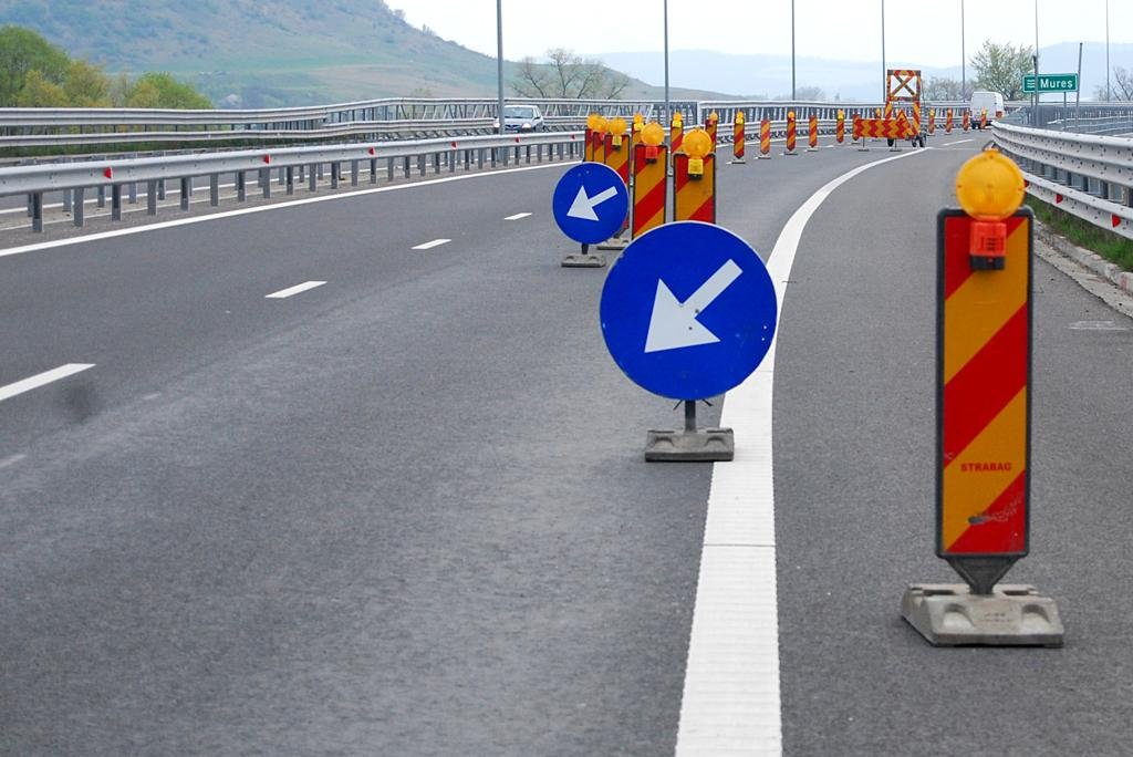 Circulație restricționată pe A1 Sibiu -Deva, în zona localității Simeria, inclusiv pe timpul nopții