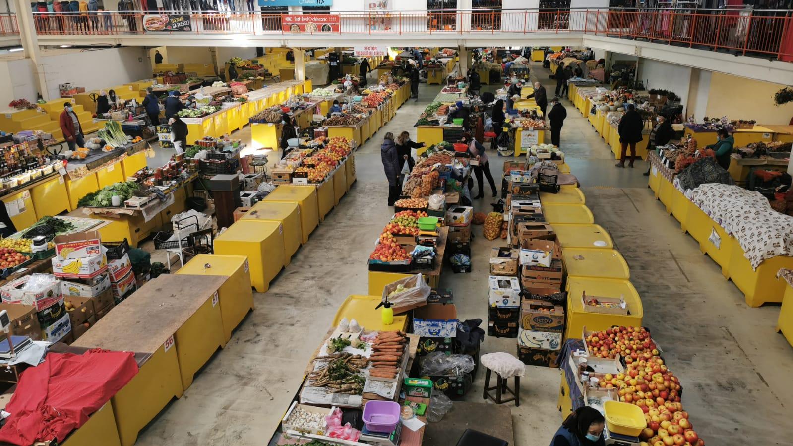 Piața Agroalimentară din Deva va fi închisă luni