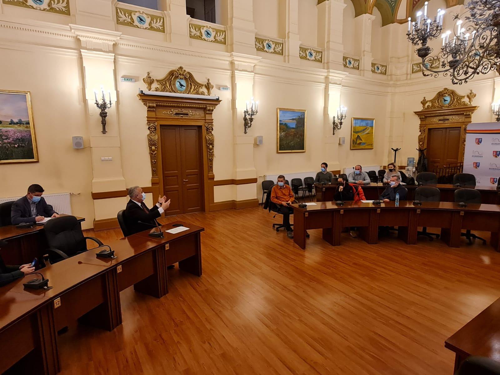 Grupul de lucru Via Transilvanica se întâlnește cu primarii din județ